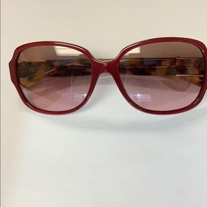 Tory Burch Tortoise Sunglasses